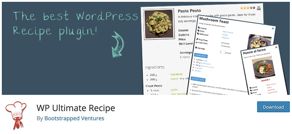 WP Ultimate Recipe